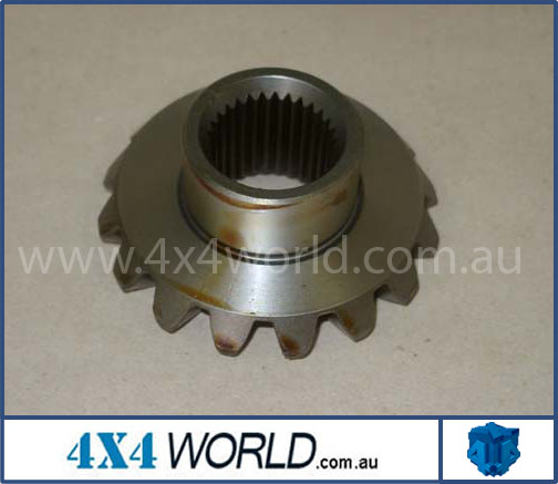 GEAR SIDE T=16      30 SPLINE